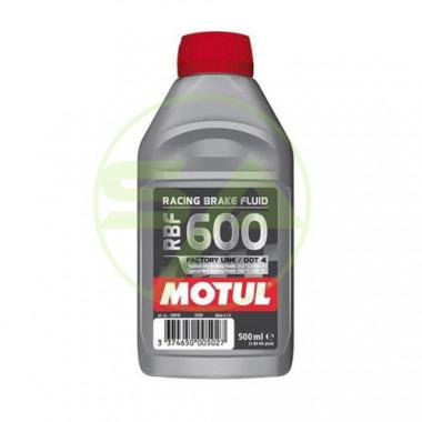 Liquide de frein Motul RBF600 DOT4 non miscible