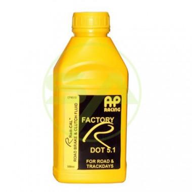 Liquide de frein AP RACING RADI-CAL FACTORY R DOT5.1 miscible