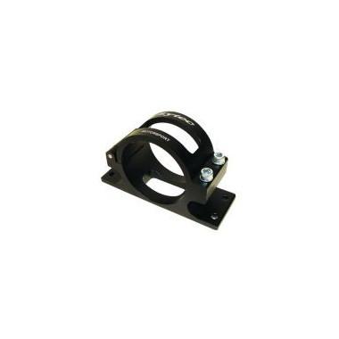 Support de pompe en alu, diamètre intérieur 65 mm. Sytec Motorsport. Noir