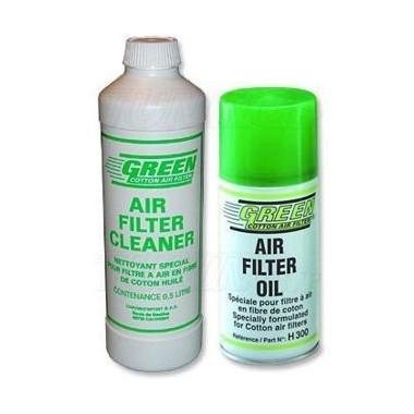 Kit 300ml Spray + liquide de nettoyage 0,5L Green