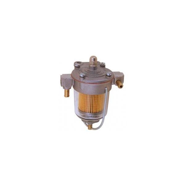 Régulateur de pression d'essence King pour Carburateur (sortie mâle à emmancher Ø 8 mm) sans manomètre