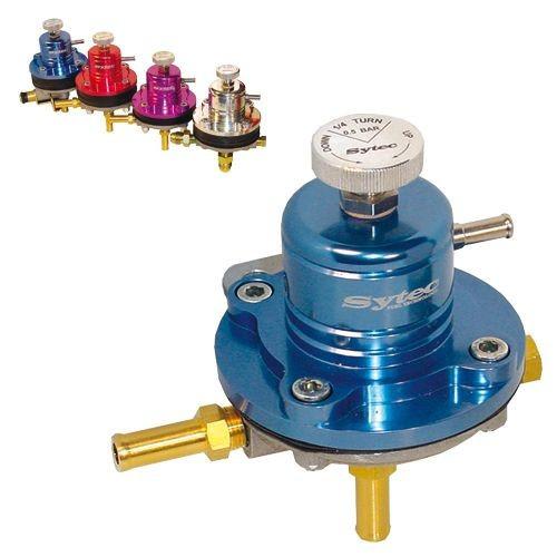 Régulateur de pression d'essence Sytec pour moteur injection - Ratio 1.1 (de 1 à 5 bars).