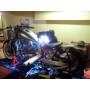 Modification de cadre moto sur Harley drag