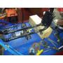 Modification du cadre pour pose bras oscillant de 900cbr sur harley