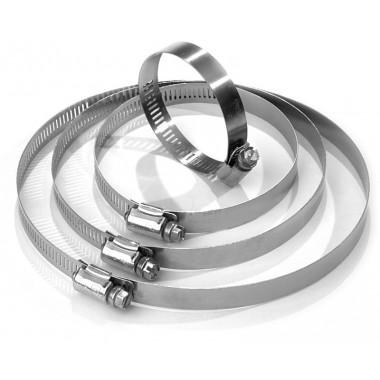 Colliers de serrage inox pour bande thermique. 10 colliers de 36 cm Bratex