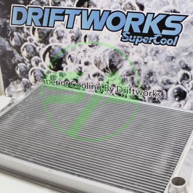 Radiateur d'eau aluminium Driftworks pour Bmw M3 E46