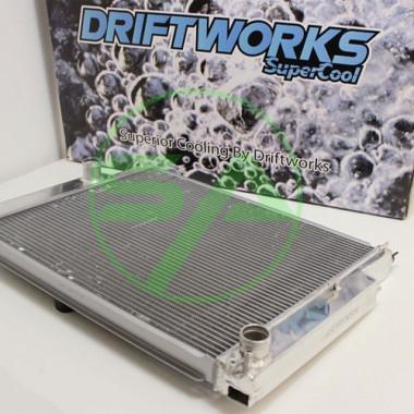 Radiateur d'eau aluminium Driftworks pour Bmw M3 E36 de 1992 à 1999