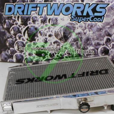Radiateur d'eau aluminium Driftworks pour Nissan Skyline R33 GTS-T