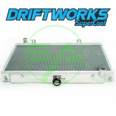 Radiateur d'eau aluminium Driftworks pour Nissan 200SX S14 / S14A (SR20DET)