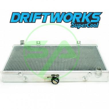 Radiateur d'eau aluminium Driftworks pour Nissan 200SX S13 (SR20DET)