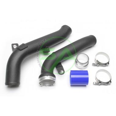 Kit durites aluminium Ta-Technix du turbo à l'échangeur pour Volkswagen Sharan (7N)