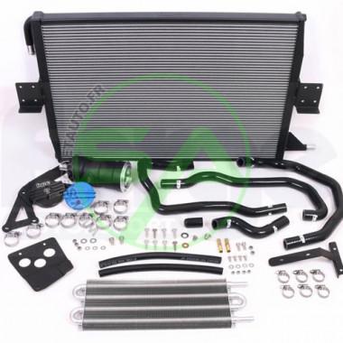 Radiateur d'eau aluminium Forge Motorsport pour Audi S5 (B8) 3.0T (avec 1 seul radiateur de série et ADS)