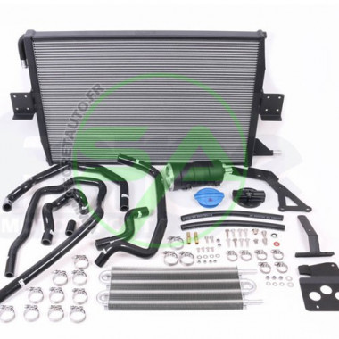Radiateur d'eau aluminium Forge Motorsport pour Audi S5 (B8) 3.0T (avec 2 radiateurs de série et ADS)