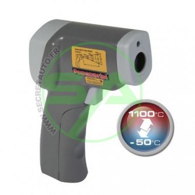 Pistolet laser Powersprint température