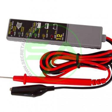 Testeur de batterie électronique 3 fonctions