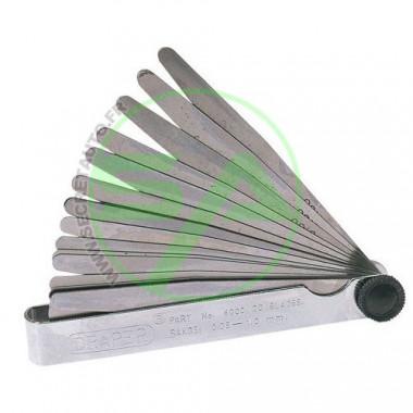 Jauge d'épaisseur 20 lames en acier de 0,05 à 1 mm