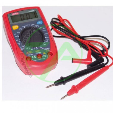 Multimètre digital avec 2 fils testeurs