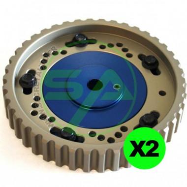 Poulies réglables CatCams (x2) pour Citroen Saxo 1.6 16v VTS - Moteur TU5J4, TU5JP4