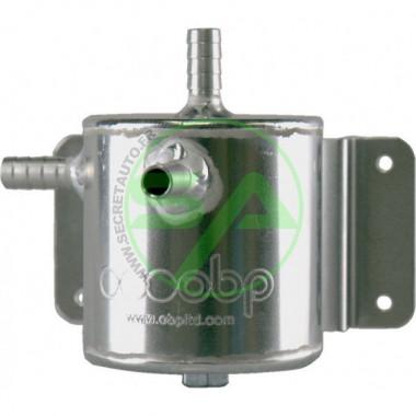 Récupérateur d'huile OBP universel en alu, contenance 0.5 litre - Non FIA