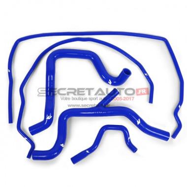 Kit de 5 durites bleu de refroidissement Mishimoto pour Ford Focus 2 RS