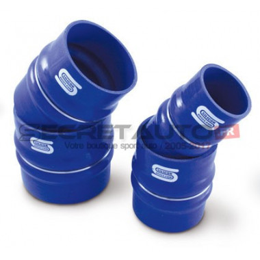 Raccord flexible silicone Silicon Hoses de couleur bleu