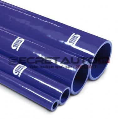 Durite droite silicone Silicon Hoses longueur 1 mètre couleur bleu