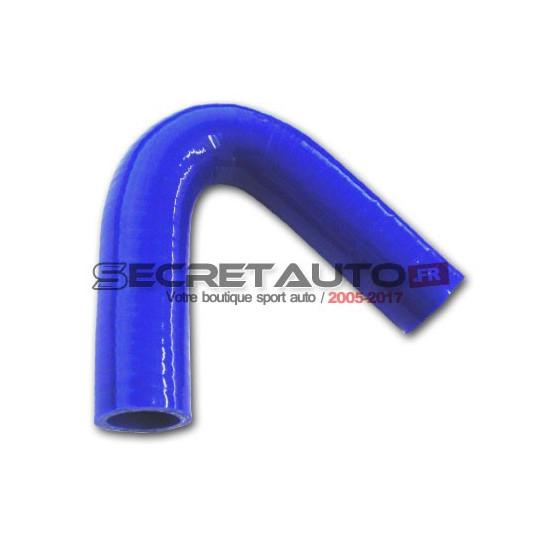 Coude silicone 135° Silicon Hoses de couleur bleu