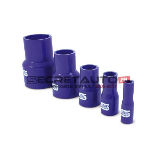 Réducteur droit silicone Silicon Hoses, couleur bleu