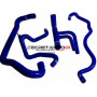Kit durites silicone Redox d'eau, couleur bleu pour Peugeot 106 Rallye phase 1