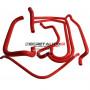 Kit durites silicone Redox d'eau de couleur rouge pour Peugeot 205 rallye 1l3 8s