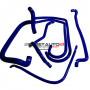 Kit durites silicone Redox d'eau de couleur bleu pour Peugeot 205 Rallye 1.3 8v
