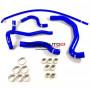 Kit durites silicone Redox d'eau de couleur bleu pour votre Peugeot 206 S16 2.0 16v 135 chevaux