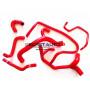Kit durites silicone Redox d'eau de couleur rouge pour votre Renault Clio Williams