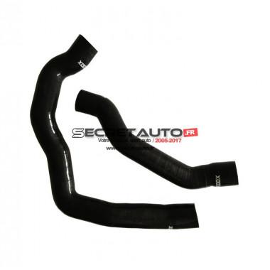 Kit durites silicone Redox de turbo, couleur noir pour Alfa Romeo 147 et GT 1.9 JTDM