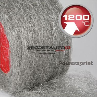 Laine échappement performance acier Powersprint SSAM-HT 1200°C antimagnétique