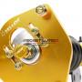 Combiné fileté Yellow Speed Racing Premium Compétition avec coupelles réglables pour le carrossage