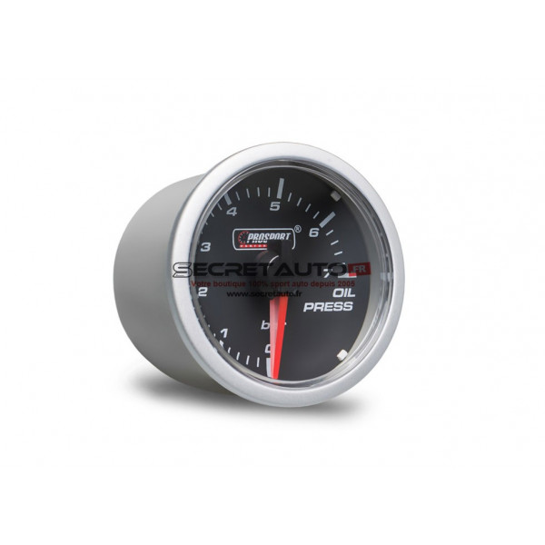 Manomètre de pression d'huile Prosport Clear Lens Series référence CT-PH-004
