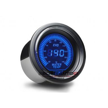 Manomètre digital de température d'eau Prosport EVO couleur bleu