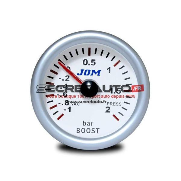 Manomètre mécanique JOM de pression de turbo