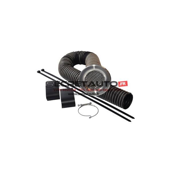 Kit alimentation air frais Revotec couleur aluminium