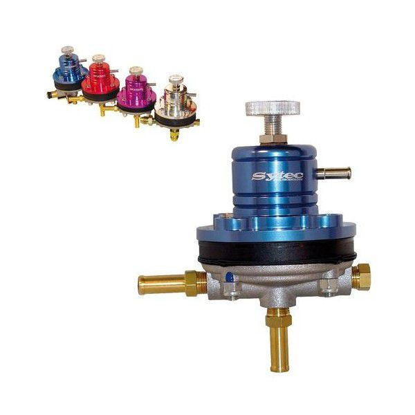 Régulateur de pression d'essence Sytec Motorsport pour moteur injection - Ratio 1.1 (de 1,5 à 6 bars)