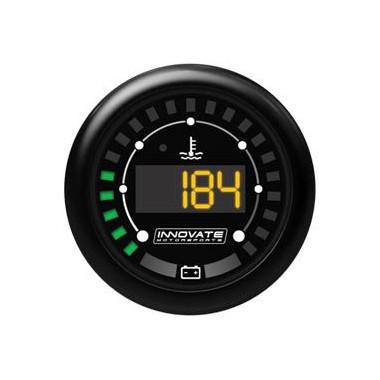 Manomètre température d'eau et niveau de batterie Innovate MTX-D digital
