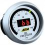 Manomètre pression d'huile (0-100 PSI) digital AEM