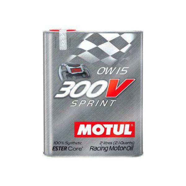 Huile moteur 300V MOTUL 2L Sprint 0W15