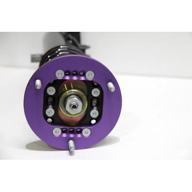 Coupelles d'amortisseurs rotulées 3D D2 RACING carrossage et chasse réglable