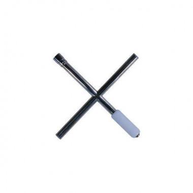 Clé en croix inox avec douille Facom de 19 mm