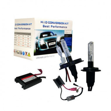 Kit de conversion Xénon H1 standard HID 6000K 35W
