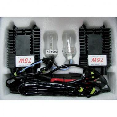Kit de conversion Xénon H1 spécial Rallye HID 6000K 75W