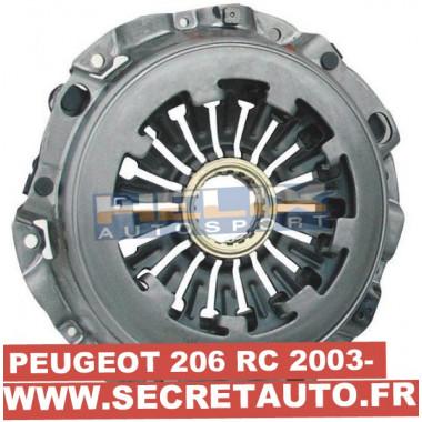 Mécanisme d'embrayage renfrocé Helix pour Peugeot 206 RC 180cv à partir de 2003