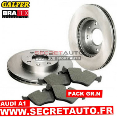 Pack freinage Groupe N pour Audi A1